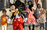 Old-timers Mickey and Minnie Mouse still have pulling power with the under-10s.