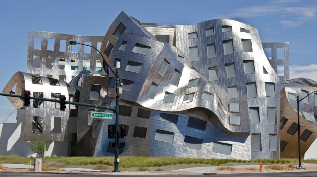 Modernist architect Frank Gehry's creation The Cleveland Clinic in Las Vegas.