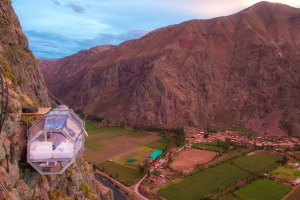 A view to thrill in Peru.