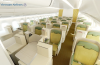 Business class on board Vietnam Airlines' Airbus A350 XWB.