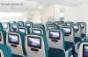 Economy class on board Vietnam Airlines' Airbus A350 XWB.