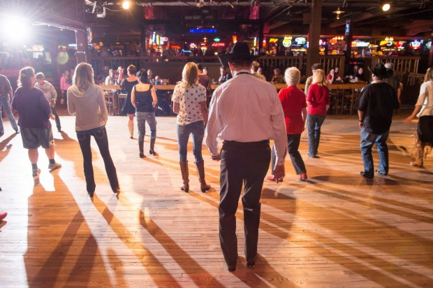 BILLY BOB'S, FORT WORTH, TEXAS. Built in 1910, this former cattle barn is the world's largest honky-tonk, where country ...