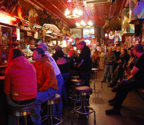 MINT BAR, SHERIDAN, WYOMING: Beyond the iconic bucking horse neon light lies a veritable den of taxidermy, with dozens ...