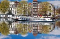 The Tulips in Springtime Holland River Cruise cruise starts in Amsterdam.