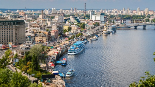 Ukraine's capital Kiev shares the title of the world's cheapest city to buy beer.
