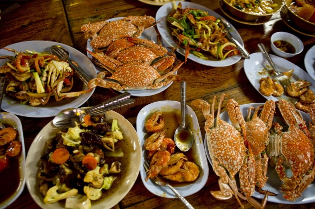 Our final feast, in the stilt village of Bang Pat, is a foodie highlight.