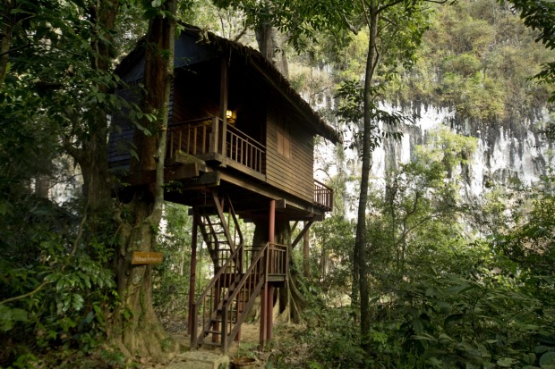 When we hit Khao Sok National Park we spend the night in the beautiful Our Jungle House, a series of private villas ...