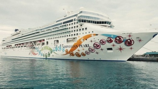 The Walking Dead Cruise Ship Set Sail With Zombies And Stars - Norwegian pearl cruise ship