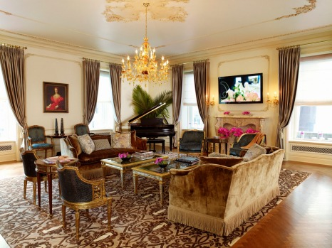 The Plaza Hotel, New York: The Royal Plaza Suite.