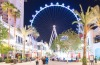 A new shopping mall leads to The High Roller at Linq.