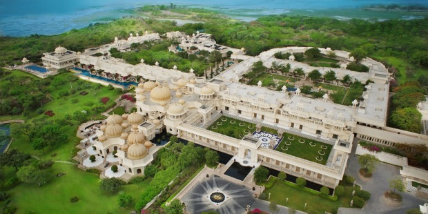 Spread over 50 acres (20.2 hectares), the hotel features a 20-acre (8 ha) wildlife sanctuary and vast gardens, with the ...