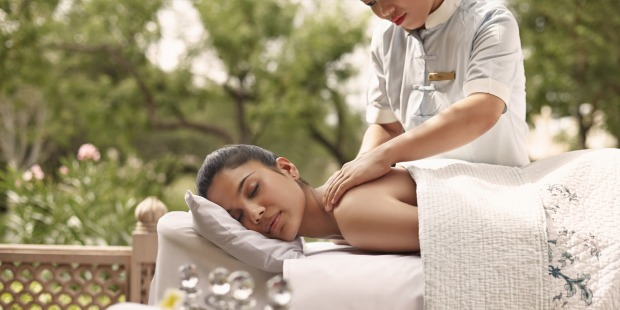 Spa therapy and treatments are available at the hotel.