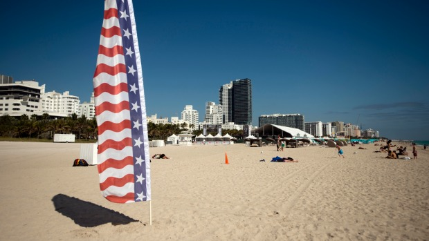 The South Beach neighbourhood of Miami Beach is a lot livelier than Fort Lauderdale.