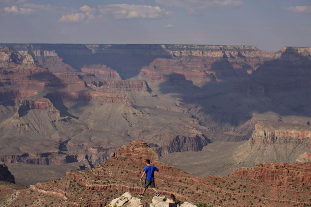 """6. Grand Canyon National Park, USA: """"Come here to hike, to raft the wild Colorado River, to spot condors, black bears ..."""