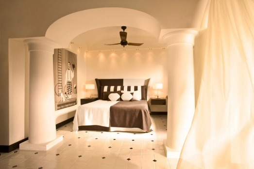 The Paltrow suite at the Capri Palace.