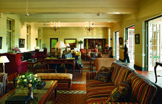 The welcoming station lounge.