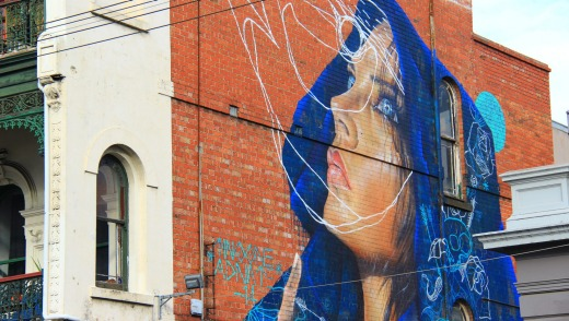 Street art by artist Adnate.