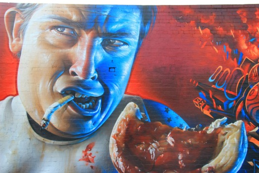The Bogan by Sofles, Smug and Adnate.