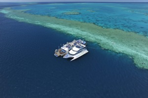 The Reefworld pontoon.