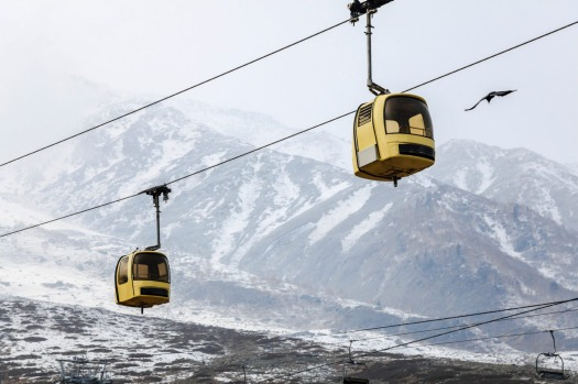 GULMARG GONDOLA, JAMMU AND KASHMIR STATE, INDIA: The world's second highest gondola ride is a two-stage journey that ...