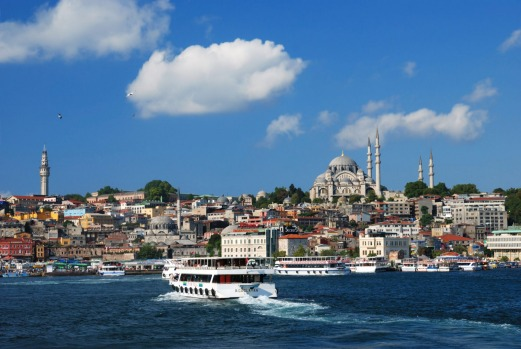 GOLDEN HORN FERRY, ISTANBUL, TURKEY: This is a more intimate, less touristy vision of the city than the popular tourist ...