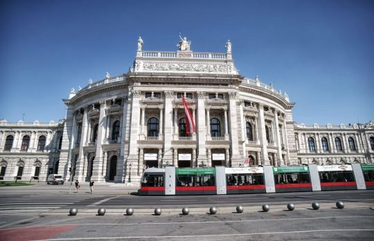 RINGSTRASSE TRAM, VIENNA, AUSTRIA: Vienna's grand boulevard, the Ringstrasse circles past wedding-cake palaces, museums ...