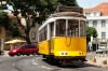 TRAM ROUTE 28, LISBON, PORTUGAL: This clanking, vintage, yellow tram threads through the city centre, through wide ...