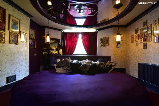 """""""Rock and roll hotel"""": Hotel Pelirocco in the United Kingdom."""