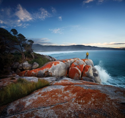 BINALONG BAY – BAY OF FIRES: Fifteen minutes' drive north of St Helens on Tasmania's north-east coast is the town of ...