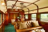 The club lounge on board the Pride of Africa train.
