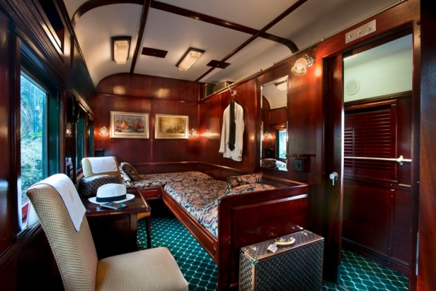 A deluxe twin suite.