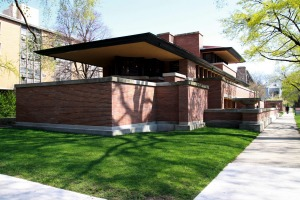 The Frederick C. Robie House designed by architect Frank Lloyd Wright is the star campus building at the University of ...
