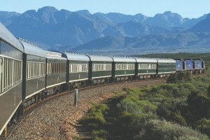 On board the 'most luxurious train in the world', the Pride of Africa.