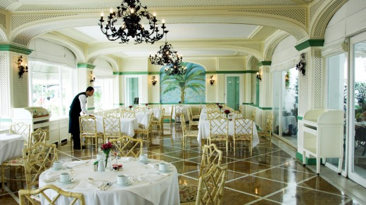 The Copacabana Palace Hotel offers a taste of old-world elegance.
