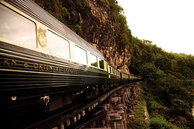 The Eastern & Oriental Express.
