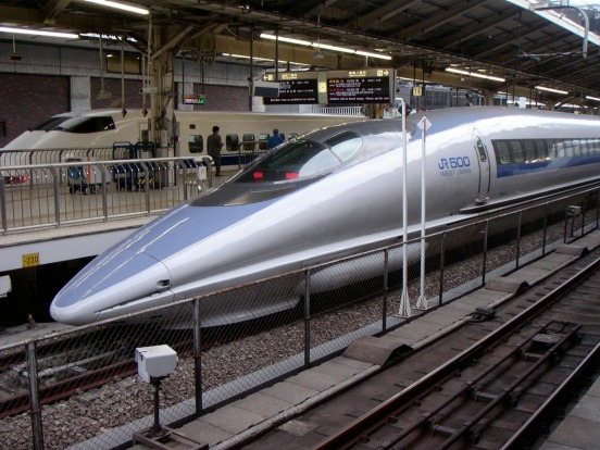 "Shinkansen in Japan. China's trains are the world's fastest, but Japan's shinkansen, meaning ""trunk line"", claim the ..."