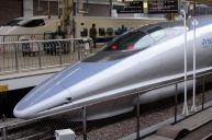 The Shinkansen bullet train is a pleasing and speedy way to travel in Japan.