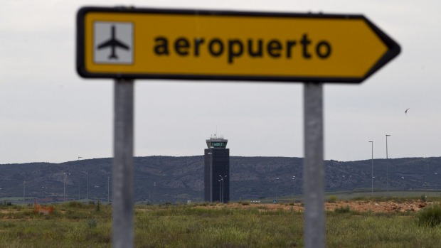 "Ciudad Real's Central airport, one of Spain's ""ghost airports"", remained virtually unused since construction."