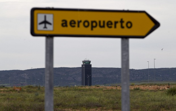 Ciudad Real Airport, Spain: In classic Don Quixote country, the attempts to open an airport at the cost of €1.1 billion ...