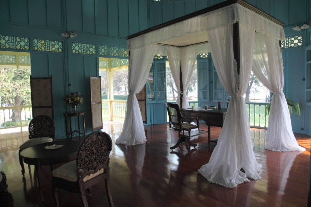 King's study, Maruekatayawan Palace, designed by Thai King Rama VI in 1923.