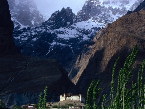 The Baltit Fort in Hunza, Pakistan.