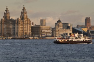 The Mersey Ferry.
