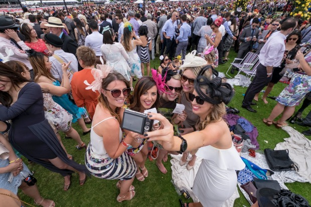 Off the track, the race that stops a nation can be as trashy as it is elegant, with champagne picnics inevitably ...