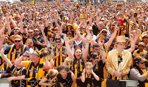 It doesn't even matter who's playing; the MCG will always be packed on Grand Final day, the atmosphere will be electric, ...