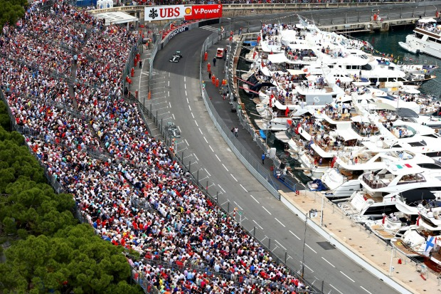 Europe's rich and glamorous gather in the tiny nation of Monaco to see the Formula One cars take to this famous street ...