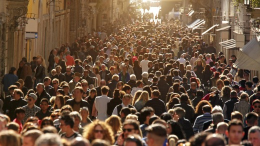 Europe is overrun with tourists in summer.