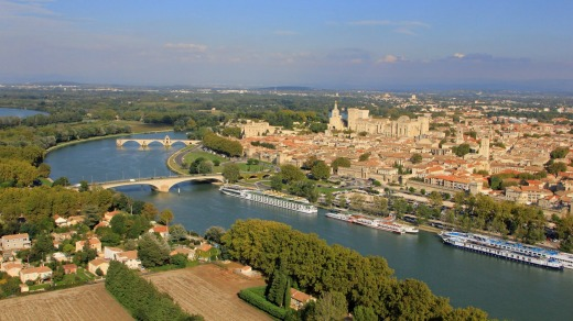Avignon by the Rhone River features on APT's itineraries for 2016.