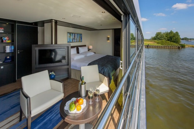 Avalon Waterways, Avalon Illumination, royal suite.