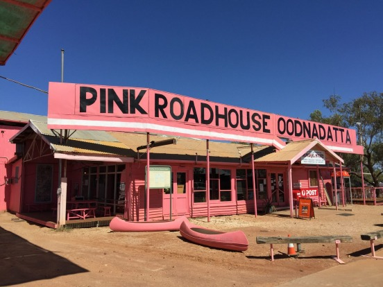 The Pink Roadhouse.