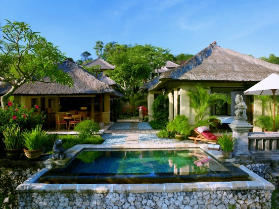 PRIVATE POOL, FOUR SEASONS JIMBARAN BAY. Wake to uninterrupted views of Jimbaran Bay – including fishermen in long tail ...